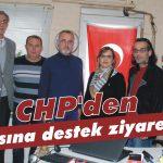 CHP'den basına destek ziyareti