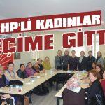CHP'li kadınlar seçime gitti