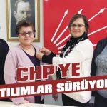 CHP'ye katılımlar sürüyor