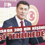 Bursa'da 300 bin kişinin işi tehlikede