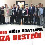 CHP'den diğer adaylara imza desteği