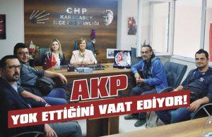 AKP yok ettiğini vaat ediyor!
