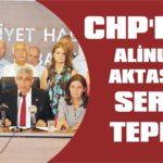 CHP'den Alinur Aktaş'a sert tepki