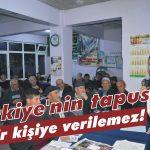 Türkiye'nin tapusu bir kişiye verilemez!