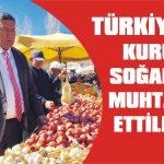 Türkiye'yi kuru soğana muhtaç ettiler