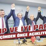 CHP ve İYİ Parti seçimden önce açıklıyor!
