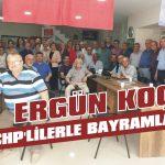 Ergün Koç CHP'lilerle bayramlaştı