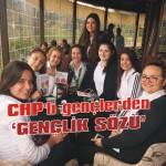 CHP'li gençlerden 'gençlik sözü'