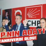 CHP'nin adayı Tanrıverdi oldu!