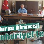Resimde Bursa birincisi Cumhuriyet'ten