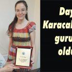 Dayı Karacabey'in gururu oldu!
