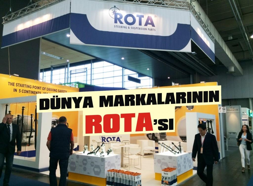 ROTA dünya markalarıyla bir arada