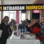 AKP'yi iktidardan indireceğiz