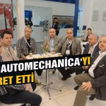 EML 'Automechanica'yı ziyaret etti