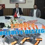 Esnaf'a belediye desteği
