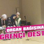 Organ bağışına öğrenci desteği