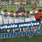 Futbolda şampiyon Cumhuriyet!