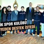 Gençlik Spor, belediyeden destek istedi