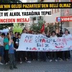 Gençler hükümeti protesto etti