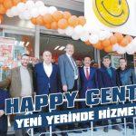 Happy Center yeni yerinde hizmette