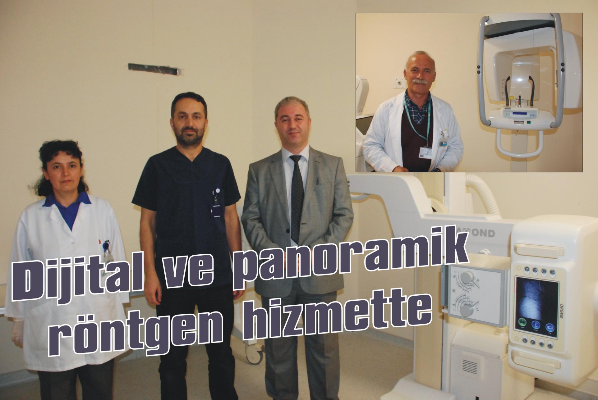 Dijital ve panoramik röntgen hizmette