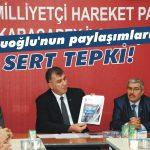 MHP'li Doğruoğlu ihraç ediliyor!