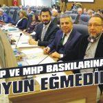AKP ve MHP baskılarına boyun eğmedim