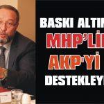 Baskı altındakiler AKP'yi mi destekleyecek
