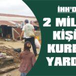 2 milyon kişiye kurban yardımı