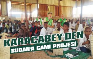 Karacabey'den Sudan'a cami projesi