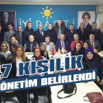 47 kişilik yeni yönetim belirlendi