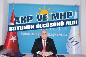 AKP ve MHP boyunun ölçüsünü aldı