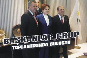Başkanlar grup toplantısında buluştu