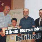 Şiirde Bursa birincisi İstiklal!