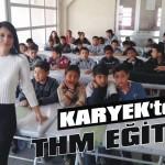 KARYEK'ten THM eğitimi