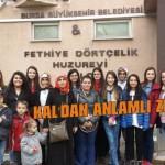 KAL'lı öğrencilerden en anlamlı ziyaret