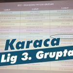 Karaca, 3. Lig 3. Grupta!