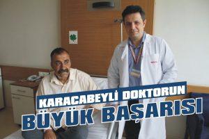 Karacabeyli doktorun büyük başarısı
