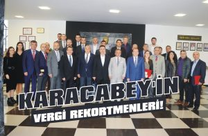 Karacabey'in vergi rekortmenleri!