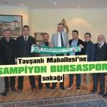 Karacabey'e 'Bursaspor şampiyonluk sokağı'