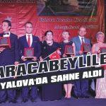 Karacabeyliler Yalova'da sahne aldı