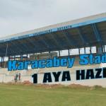 Karacabey stadyumu 1 aya hazır
