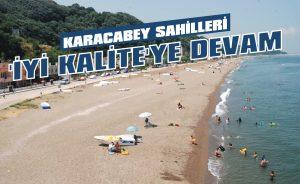 Karacabey sahilleri 'iyi kalite'ye devam