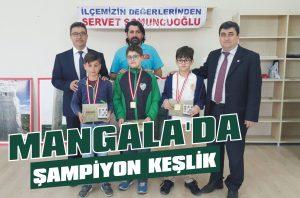 Mangala'da şampiyon Keşlik
