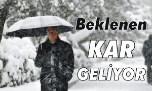Beklenen kar Balkanlar'dan geliyor