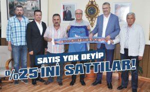 Birlikspor'un yüzde 25'ini sattılar!