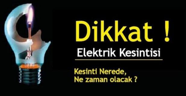 Bu bölgelerde elektrik yok!