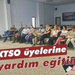 KTSO üyelerine ilk yardım eğitimi