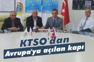 KTSO'dan Avrupa'ya açılan kapı