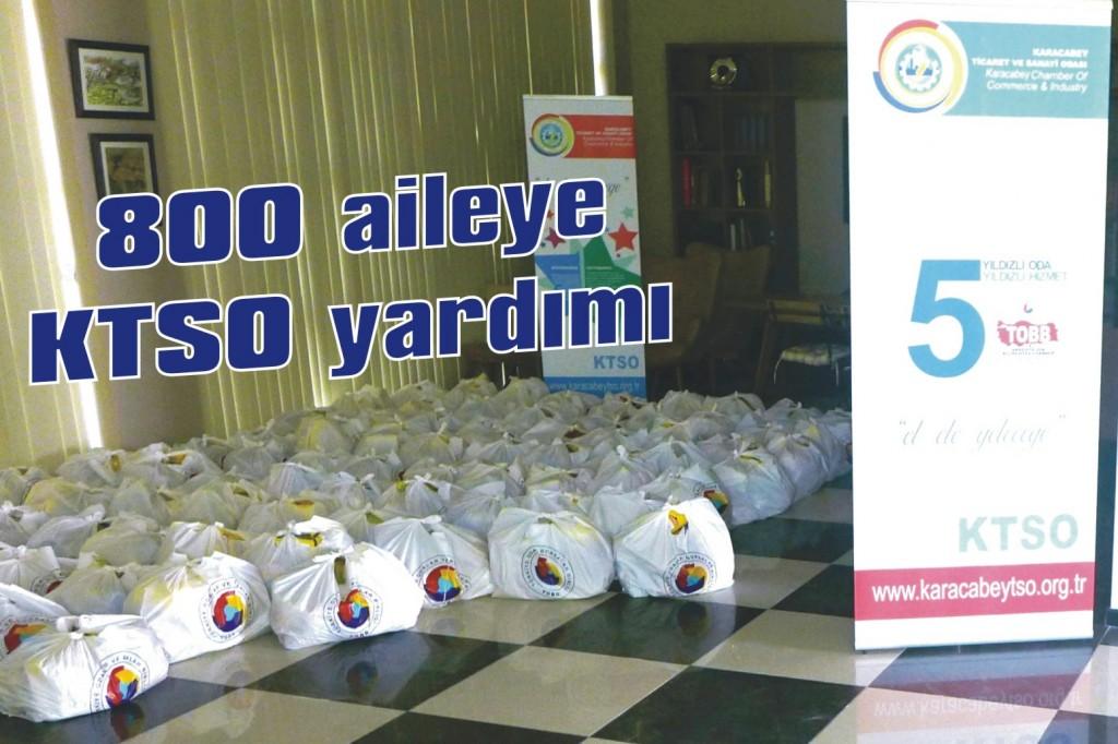 800 aileye KTSO yardımı